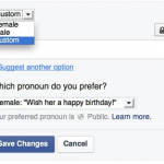 Facebook's 71 gender options come to UK users