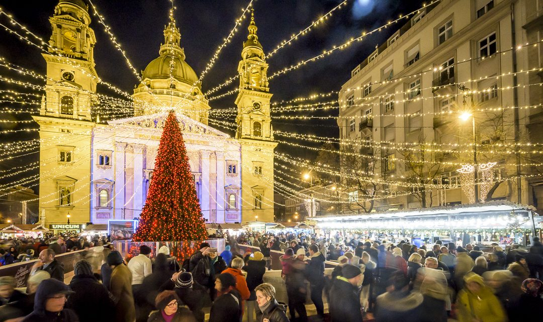 Budapest Christmas Market 2018.From This Day One Of Europe S Best Christmas Market