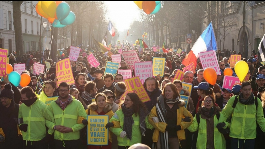 march for life France