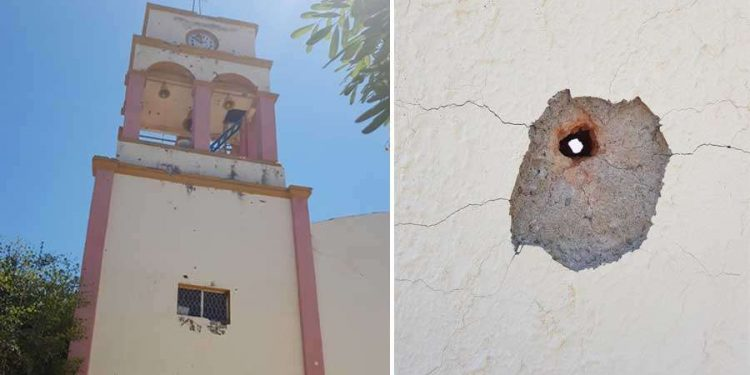 Cartel battle leaves church damaged in Mexico | Stand for Christians