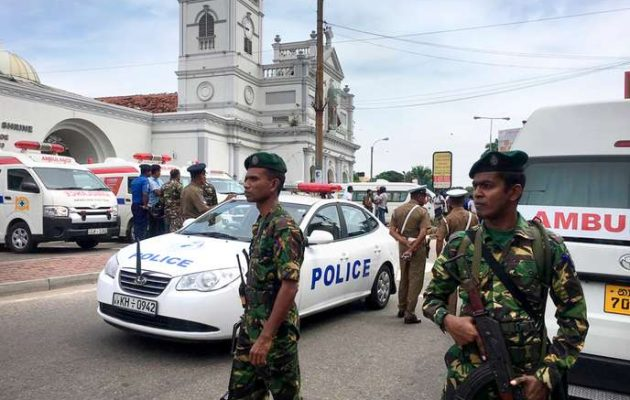 ADDITION Sri Lanka Church Blasts