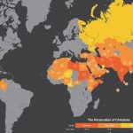 The top 50 countries where it's hardest to be a Christian