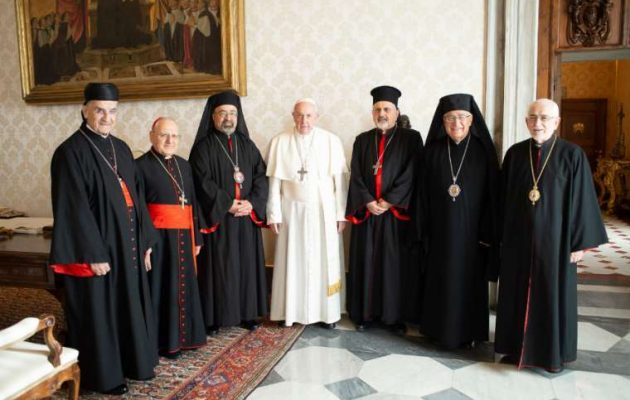 Pope meets Patriarchs