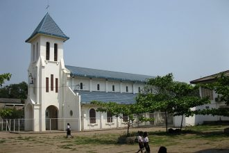 Laos church